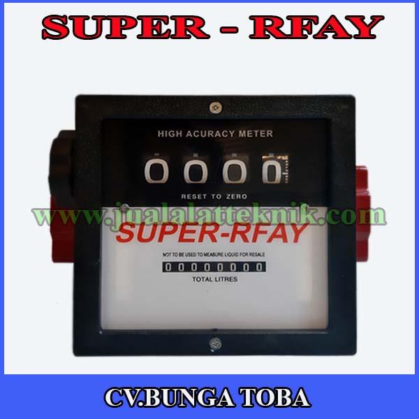 Super R fay Flowmeter solar 2 inch drat