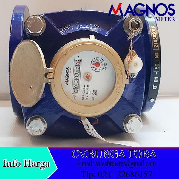 Flow meter Air Bersih 2 inchi Merek Magnos